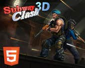 Play Subway Clash 3D