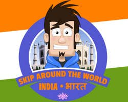 Play Skip Around the World - India
