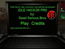Play Idle Hacker Pro