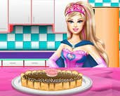 Play Barbie Chocolate Cake