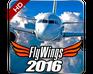 Play Flight Simulator - FlyWings 2016