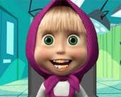 Play Masha Tricks At Dentist