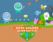 Play Super Awesome Alien Battle 2