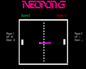 Play NeoPong
