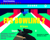 Play FPS Bowling 2