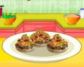 Play Safron Stuffed Mushrooms