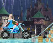 Play Elsa Rides To Castle