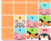 Play 2048 Cuteness Edition