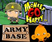 Play Monkey GO Happy Army Base