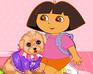 Play Dora Rescue Puppy
