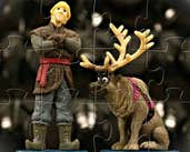 Play Kristoff and Sven Puzzle