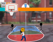 Play Stickman Basketball 3