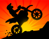 Play Sunset Bike Racer - 2D Motocross Racing